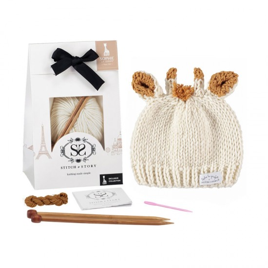 Stitch and Story -  Sophie`s hat knitting kit