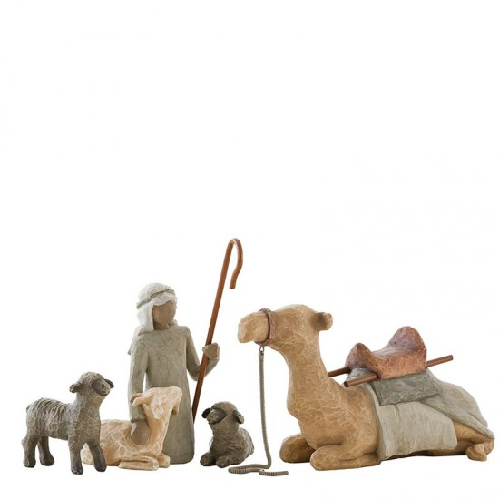 Nativity - Shepard and stable animals